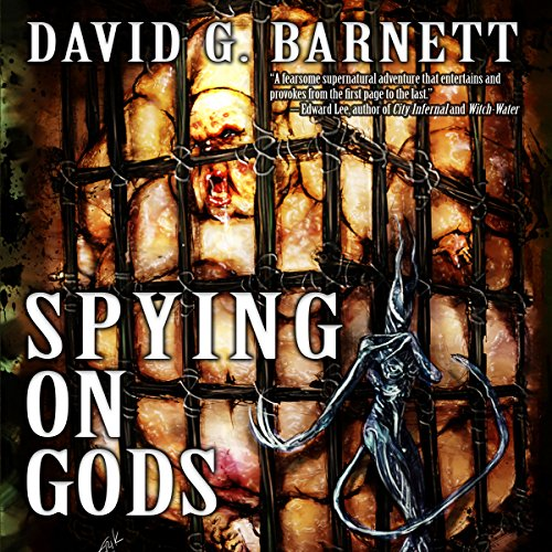 Spying on Gods audiobook cover art