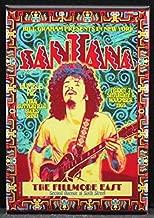 Santana Concert Poster Refrigerator Magnet.