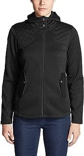 sport tek ladies full zip hooded fleece jacket