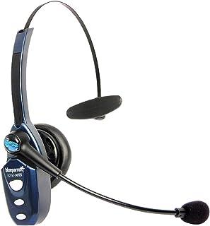 BlueParrott B250 XTS Bluetooth On Ear Mono kabelloses Headset – Perfekt für unterwegs und für lärmintensive Umgebung – Schwarz