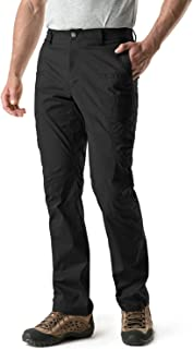 Men's Outdoor Adventure Rugged Pants Hiking Camping Stretch Durable UPF 50+ Quick Dry Cargo Trousers