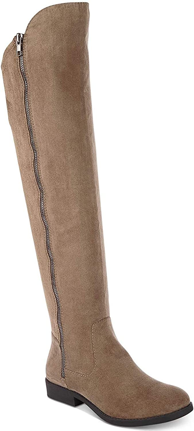 Style & Co. Womens Hadleyy Closed Toe Over Knee Fashion Boots, Truffle, Size 6.0