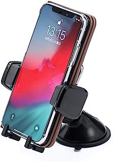 サンワダイレクト オートホールド式 車載ホルダー 手帳型ケース対応 簡単取り外し 角度調整 ゲル吸盤 iPhone スマホ 200-CAR069