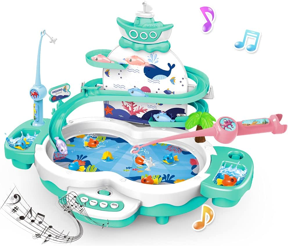 Magnetic Fishing Games Toys for Kids - Version El 3 1 Limited time free shipping in Credence Premium