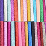 Onepine GlitzerStoff 30 Stück 30 Farben