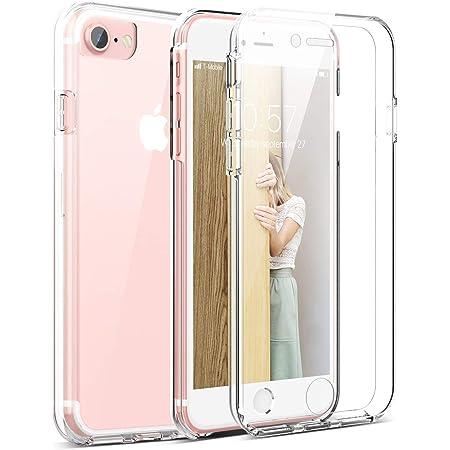 Moozy Cover Protezione 360 Gradi per iPhone SE 2020, iPhone 7 e ...