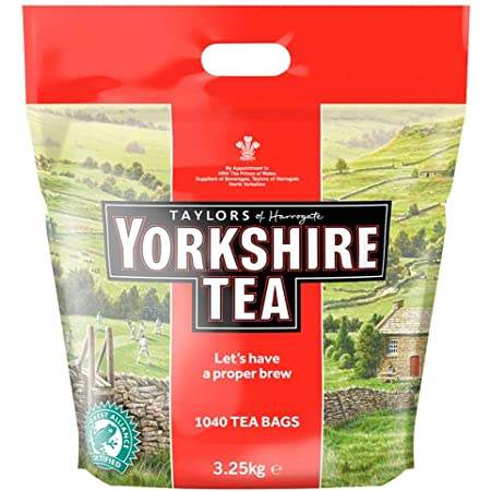 Taylors of Harrogate Yorkshire Tea 1040 Bolsas de té 3.25kg