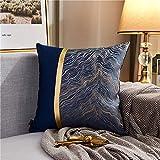 Almohada,Diseño ergonómico para un Mejor Soporte para Dormir en la Cabeza, el Cuello y los Hombros Almohada -5_45 * 45cm