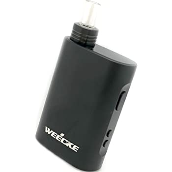 加熱式タバコ ヴェポライザー WEECKE C-VAPOR4.0 スターターキット 最新型 タバコ代1/5 どんなタバコ葉も加熱して吸える 葉タバコ専用 ウィーキー シーベイパー (FULL BLACK(限定カラー))