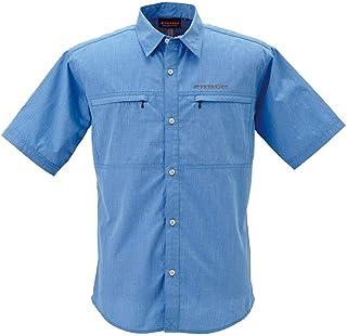 BOWBUWN ライトフィールドシャツショートスリーブ ブルー(70) Lサイズ Y1432-L-70 アパレル メンズ メンズ(その他) ab1-1196548-ak [並行輸入品]