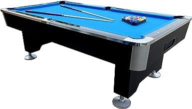 9 Fu/ß Pool Billard 282 x 155 x 80 cm 150 kg Tischbillard mit Zubeh/ör Kugelr/ücklauf BuckShot Billardtisch 9ft Manhattan