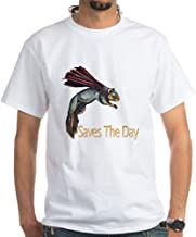 CafePress Super Squirrel Saves The Day Ash Cotton T-Shirt