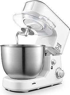 5 liters kneading machine household automatic kneading machine multi-function chef machine small cream mixer white