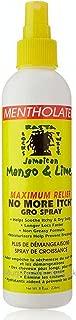 Jamaican Mango & Lime Maximum Relief No More Itch Spray Mentholated 8oz