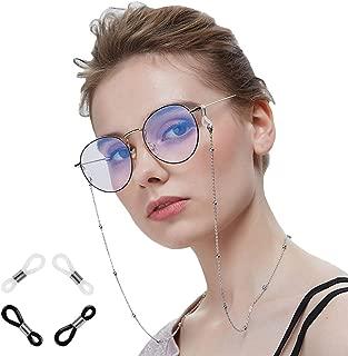 YiyiLai Beads Glasses Chain Sunglasses Holder Eyewear Lanyard Neck Strap