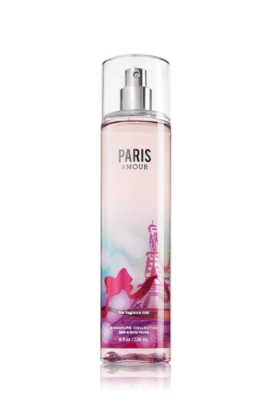 眉をひそめる撤退引く【バス&ボディワークス】 Fine Fragrance Mist/ファインフレグランスミスト Paris Amour [並行輸入品]