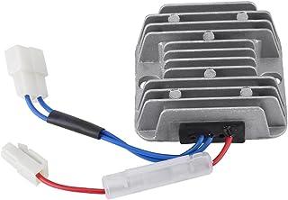 12V DC Regulador de voltaje, 178F / 186F Automático Regulador de voltaje de aluminio AVR Accesorios del motor para KDE3500 5000 6500 6700 generador, agricultura