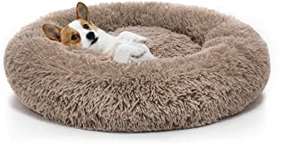 MIXJOY Orthopedic Dog Bed Comfortable Donut Cuddler Round Dog Bed Ultra Soft Washable Dog and Cat Cushion Bed (23''/30''/36'')