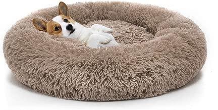 MIXJOY Orthopedic Dog Bed Comfortable Donut Cuddler Round Dog Bed Ultra Soft Washable Dog and Cat Cushion Bed (23''/30''/36'')