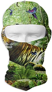 XZX2018 King of The Jungle Balaclava Sunscreen Windproof Sandproof Outdoor Sports Full Face Mask