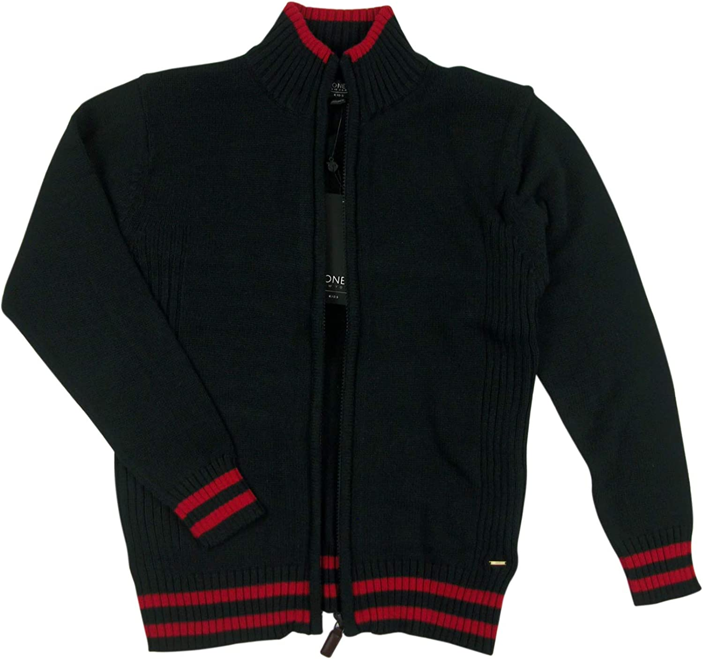 Jones New York Boys Zip-Up Sweater Jacket
