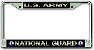 MilitaryBest U.S. Army National Guard License Plate Frame