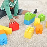 ぼん家具 大きい ブロック 48ピースセット 知育 子供用 パズル ビッグ Block おもちゃ