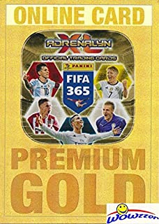 2017 Panini Adrenalyn XL FIFA 365 EXCLUSIVE PREMIUM GOLD Limited Edition ONLINE CARD Never Used! Awesome Special Card Imported from Europe! Shipped in Ultra Pro Top Loader to Protect it! WOWZZER!