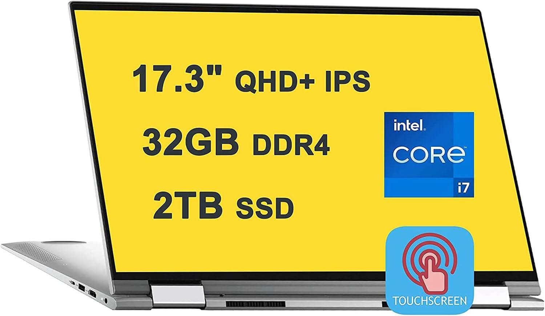Dell Inspiron 17 7000 7706 Premium 2-in-1 Laptop I 17.3