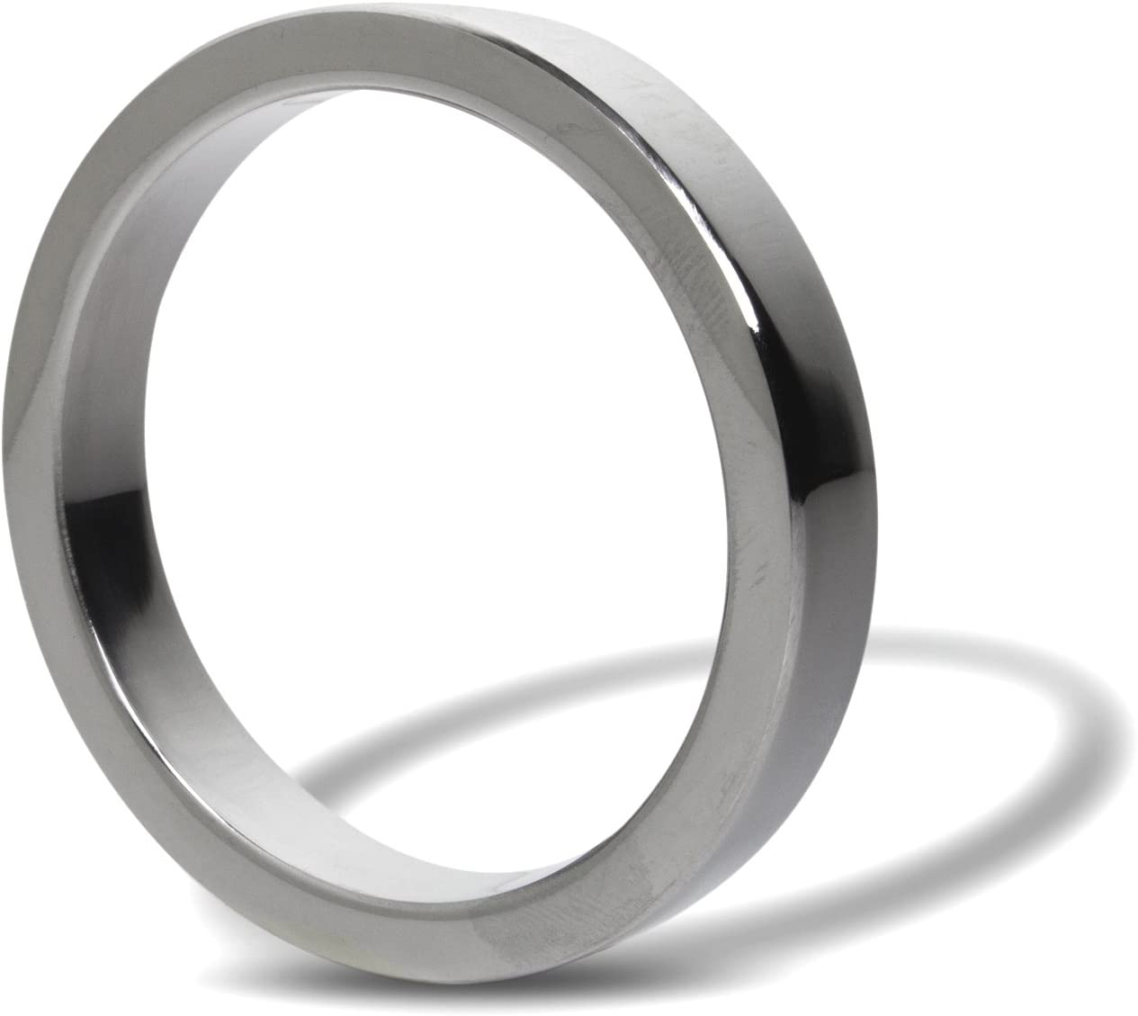 Eyro Cock Ring Wide Oakland Mall Stainless Popularity Steel- 2.0