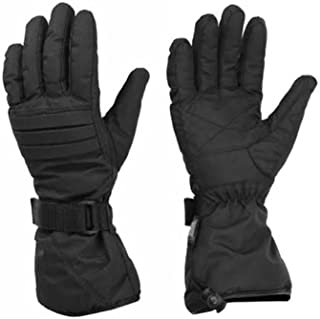 Men's Double Insulation Snowmobile Textile Gauntlet Ski Motorcycle Warm Gloves