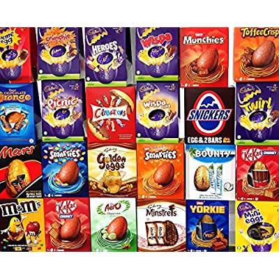 3 x large easter eggs randomly assorted lucky dip chocolate selection box gifts 3 x Large Easter Eggs Randomly Assorted Lucky Dip Chocolate Selection Box Gifts 61xoSgXnmTL