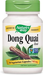 Nature's Way Dong Quai Root, 1,130 mg per serving, 50 Capsules