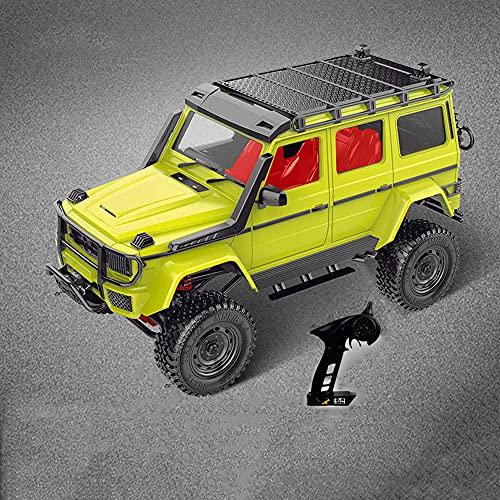 KGUANG Aleación Off-Road RC Car Full Scale 1:12 4WD Bigfoot Climbing 2.4G Control Remoto BuggyUSB Carga eléctrica Niños Simulación Vehículo de Juguete Niño Navidad Regalo de cumpleaños Camión