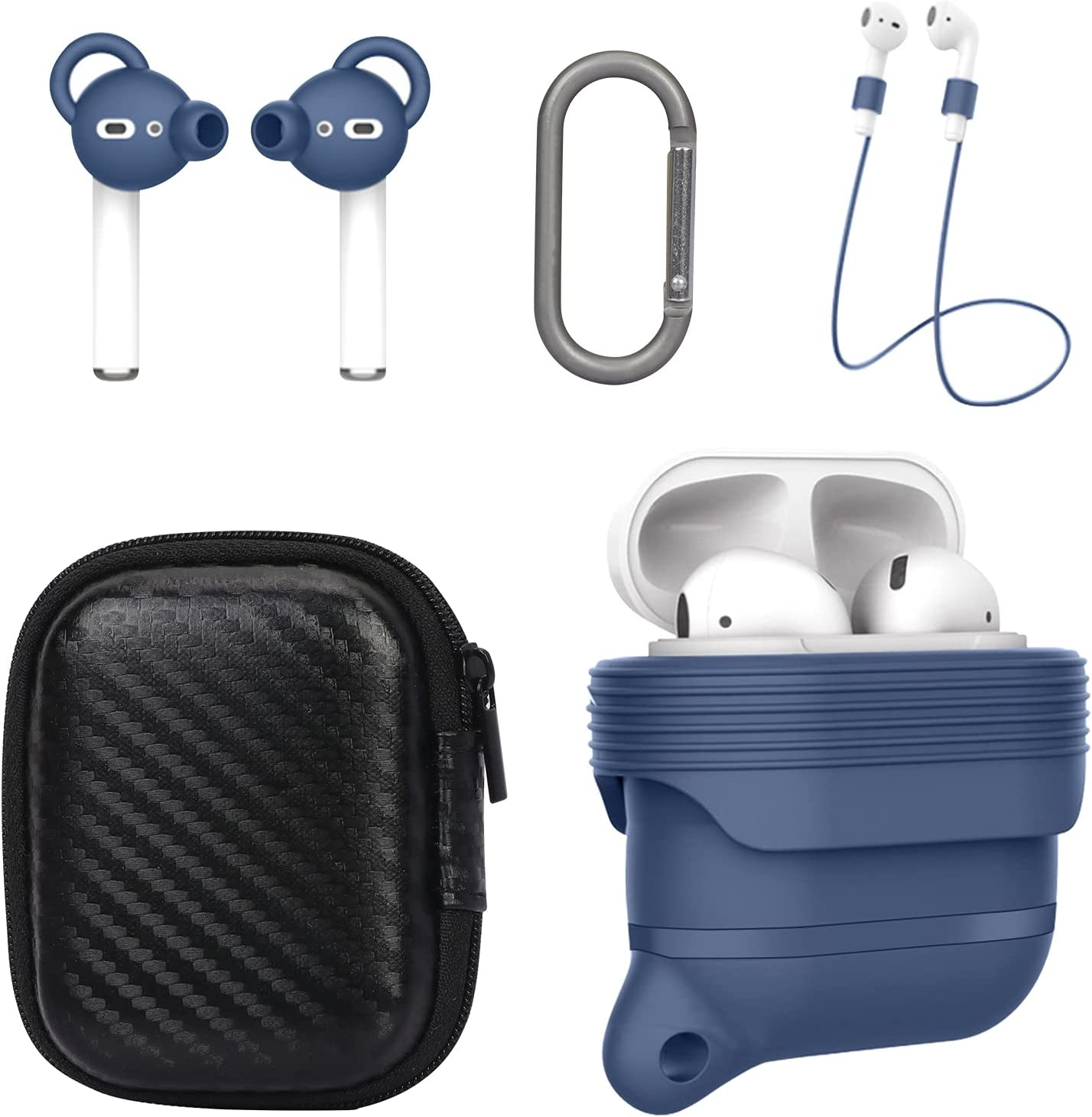Buy FYY Airpods Case, 20 in 20 Accessories Set Silicone Protective ...