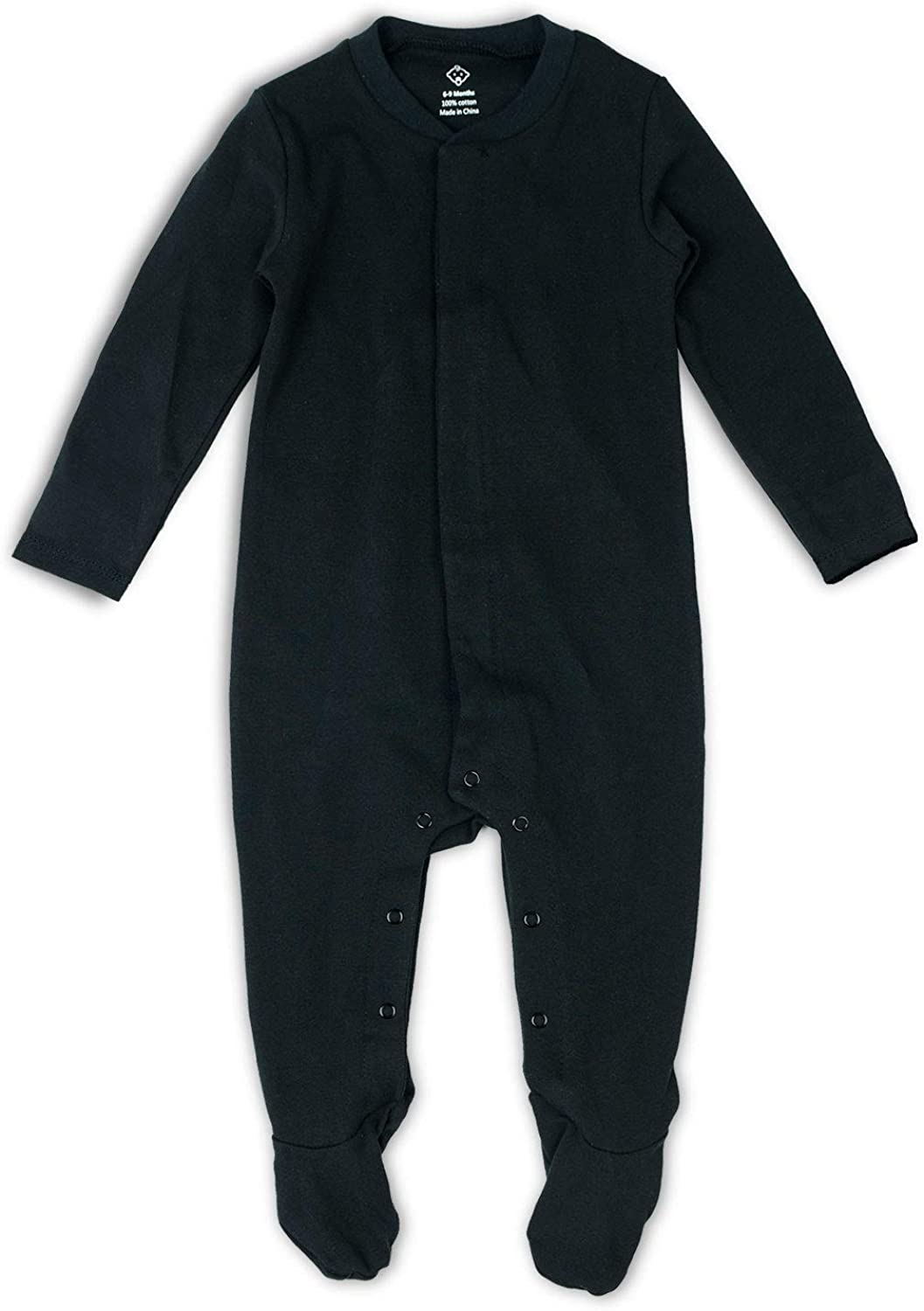 OPAWO Solid Color Unisex Baby Footed Onsies with Rompers Mitten Free Shipping Cheap Max 41% OFF Bargain Gift