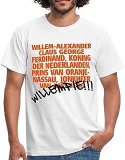 Spreadshirt Willempie Willem Grappige Koningsdag Mannen T-shirt