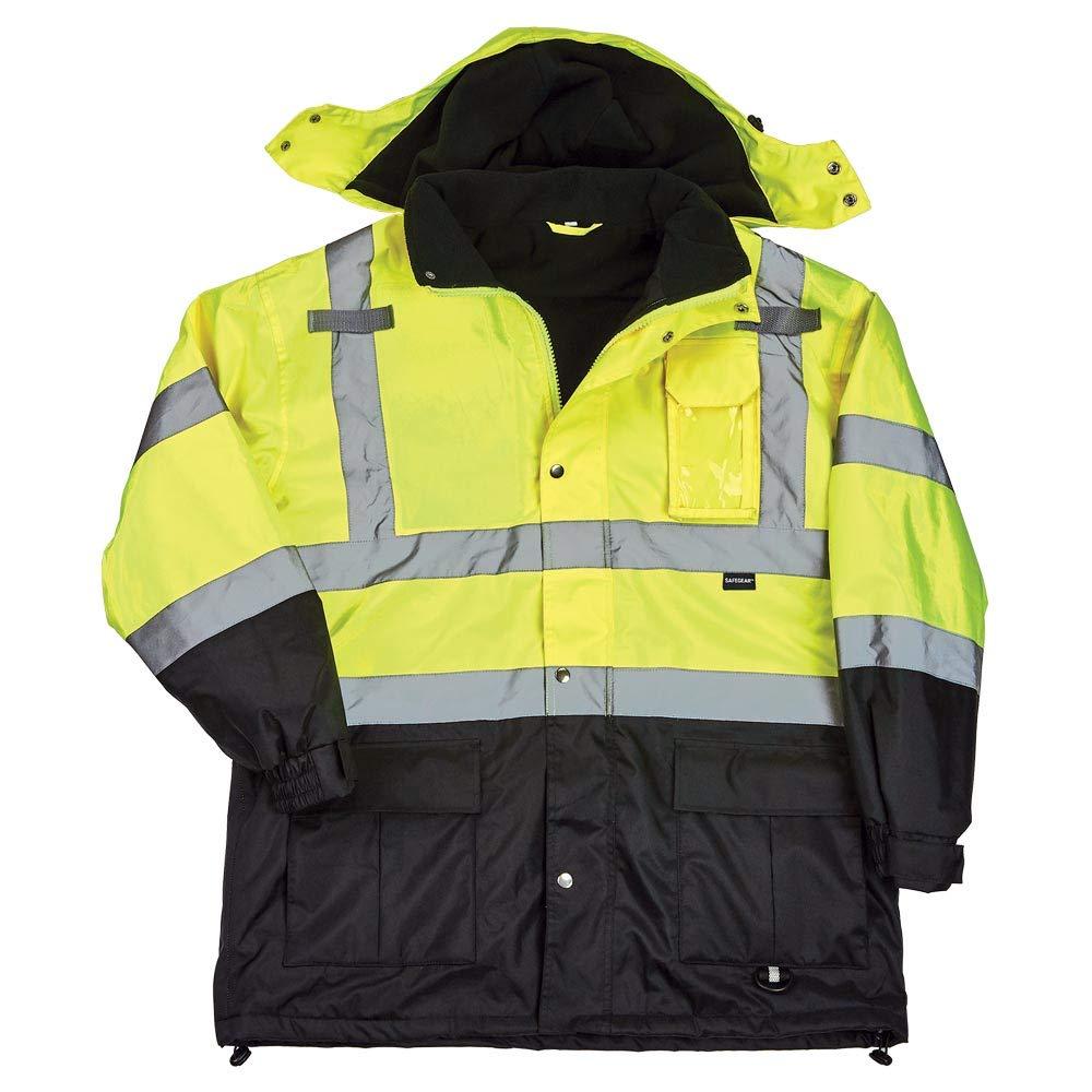 SAFEGEAR Type R Class 3 Parka 超歓迎された - Small Jacket Pockets with 直営ストア Hood