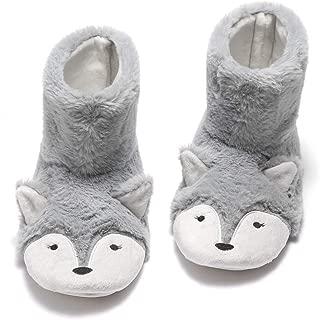 fox slipper boots