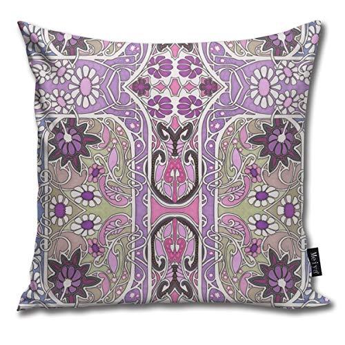 Beauty-Design Housse de Coussin pour canapé et Salon Motif Esprits torsadés 45,7 x 45,7 cm