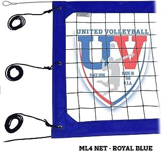 "United Volleyball Supply ML4:4"" Pro Beach Volleyball Net"
