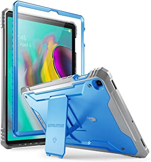 Galaxy Tab S5E Case, Poetic Full-Body Heavy Duty Dual-Layer Shockproof Protective Cover with Kickstand, Built-in-Screen Protector, Revolution Series, for Samsung Galaxy Tab S5E (SM-T720/T725), Blue
