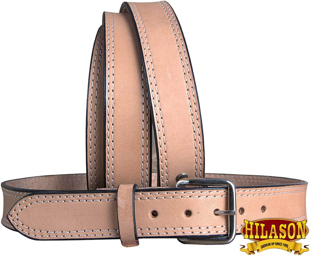 HILASON Leather Gun Holster Belt 30 In-60 Hand B Heavy half 1 year warranty Made Duty