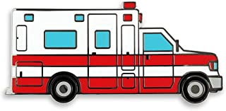 Pinsanity Ambulance Paramedic Truck Enamel Lapel Pin