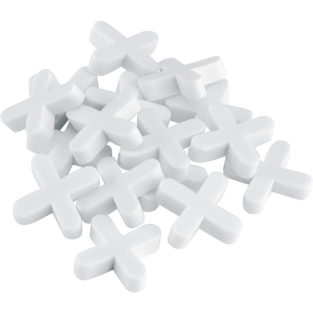 QEP 10281Q  1/8-Inch Tile Spacers for Spacing of Floor or Wall Tiles, 1,000-Piece