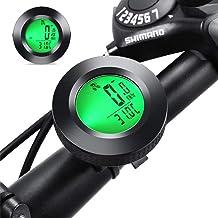 gotyou Cuentakilómetros de Bicicleta,Velocidad de Medición de Millas,Computadora de Bicicleta Medidor multifuncion,Impermeable,Retroiluminada con Pantalla LCD,22 Funciones para el Ciclismo