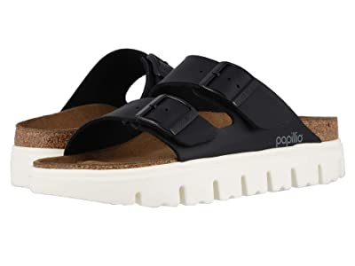 Birkenstock Arizona Chunky by Papillio (Black Birko-Flor) Women