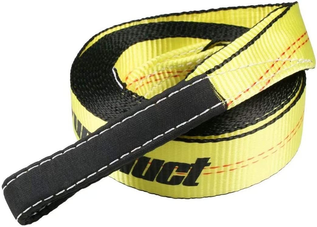 Sumpluct Nashville-Davidson Mall Recovery Tow Strap 2in X 20ft Duty 20 000 lbs Heavy Bre Reservation