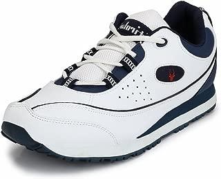 Hirolas Multisport Sneaker Shoes (8 UK/India (42 EU), White)