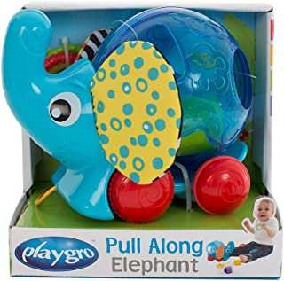 Playgro - Pull Along Elephant 3 in 1 Toy